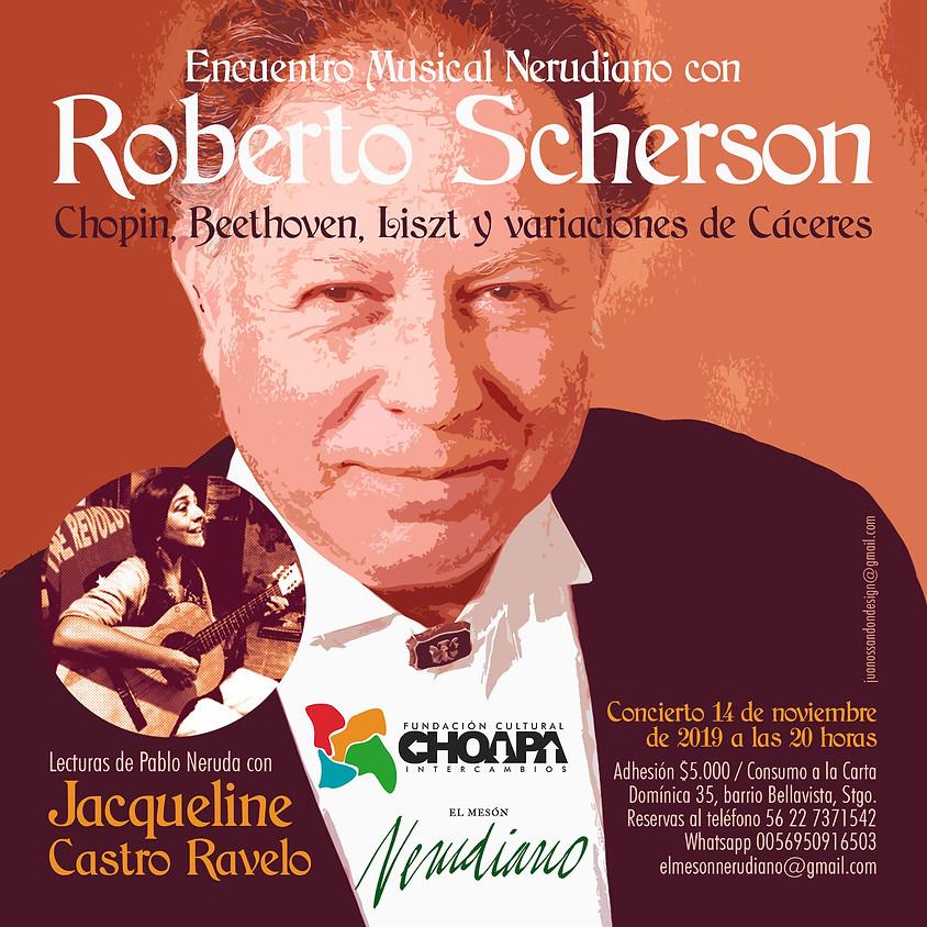 ROBERTO SCHERSON  en concierto