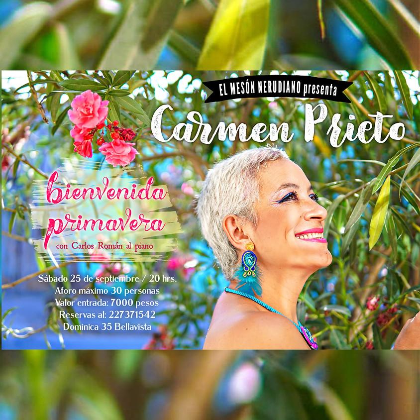 Carmen Prieto: Bienvenida Primavera