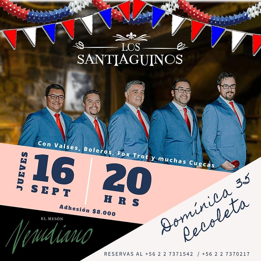 Los Santiaguinos: Valses, Boleros, Fox Trot y muchas cuecas