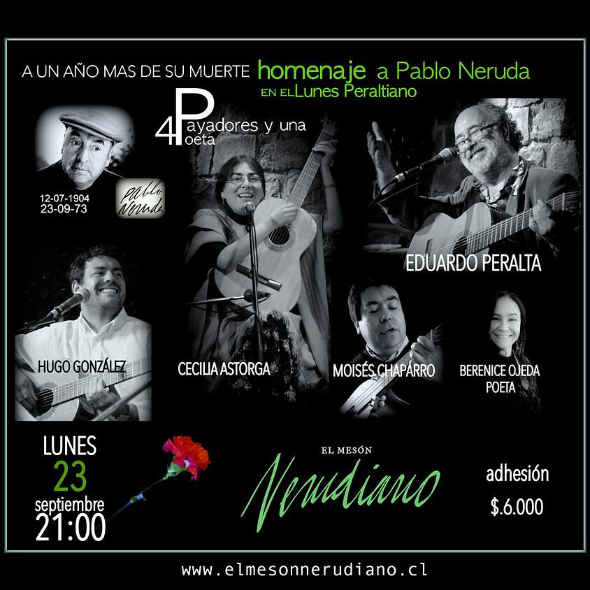 ENCUENTRO DE PAYADORES: Homenaje a Pablo Neruda