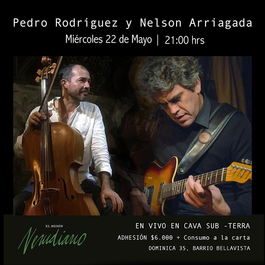 Pedro Rodríguez y Nelson Arriagada