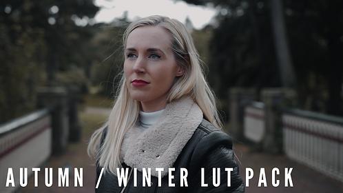 Autumn/Winter LUT Pack