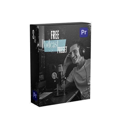 FREE PODCAST AUDIO PRESET FOR PREMIERE PRO