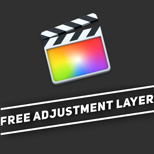 FREE FCPX Adjustment Layer