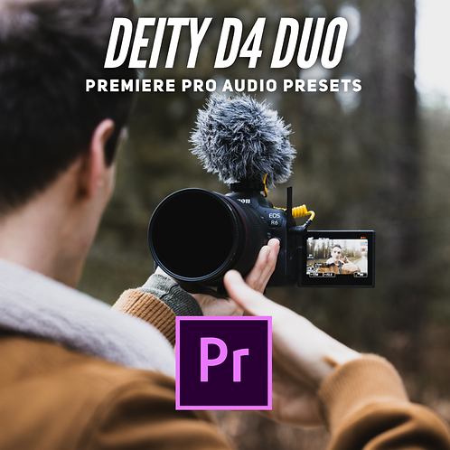 SH Deity D4 Duo Microphone Audio Presets Pack for Premiere Pro