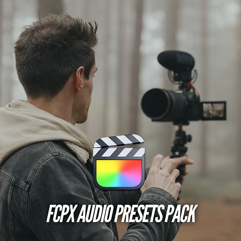 SH Audio Presets Pack for Final Cut Pro X FCPX