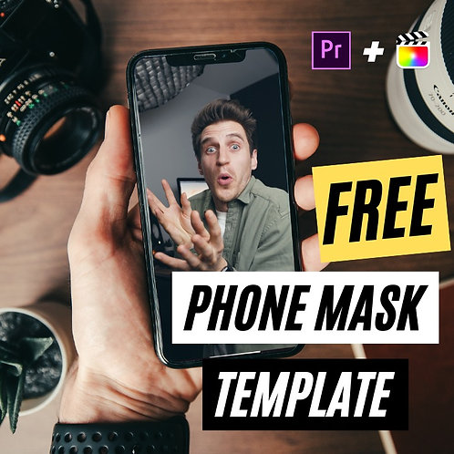 Phone Mask Template for FCPX & Premiere Pro