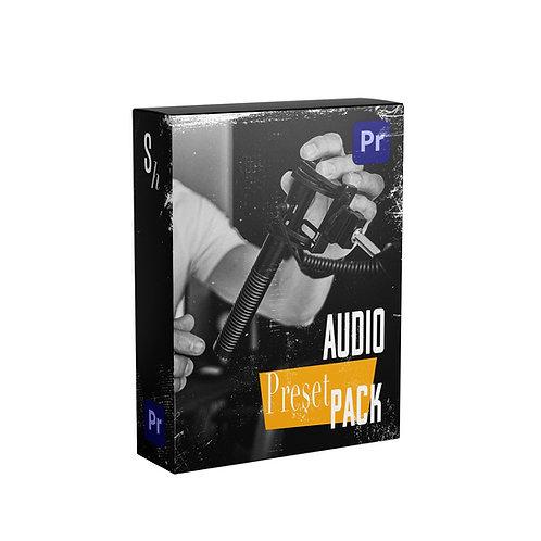 AUDIO PRESET PACK FOR PREMIERE PRO