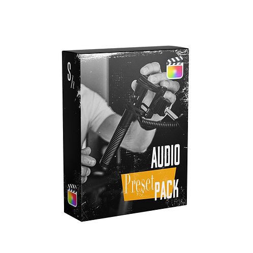 AUDIO PRESET PACK FOR FCPX