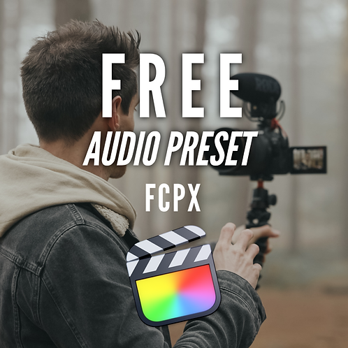 FREE Outdoor Vlog Preset for FCPX