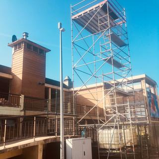 Tijdelijke ontvangsttoren