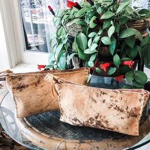 Copper Tint Vintage Cowhide Bags