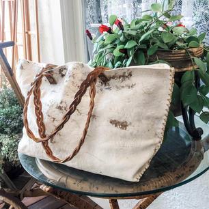 Signature Vintage Cowhide Shoulder Bag