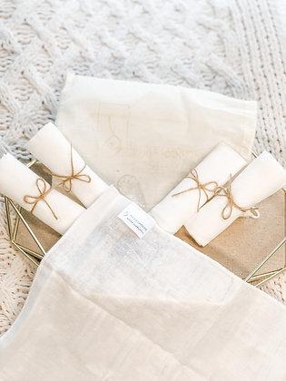Nicole Caroline Soft Cleansing Cloths (5 re-usable)