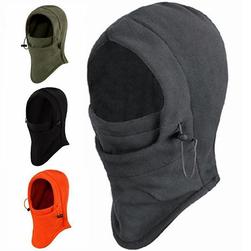 Face Warming  Hood Thermal Warmth with Mouth Flap for Men & Women Thermal  Combo