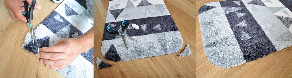 Teppich zuschneidbar