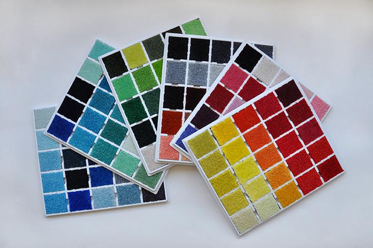 Teppich bunt - Farben