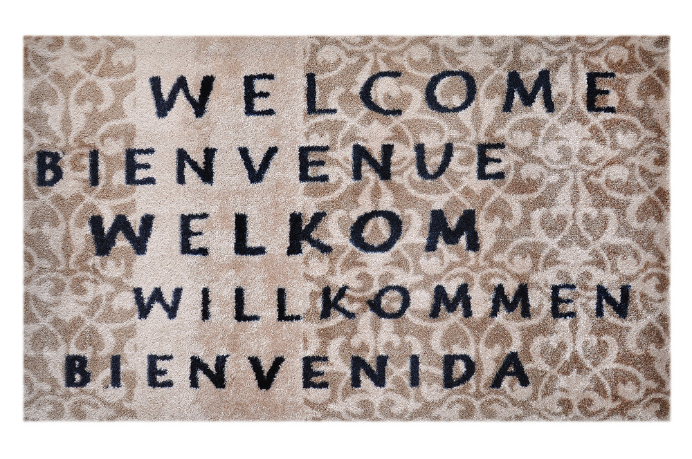 Willkommen Fußmatte - welcome Matte