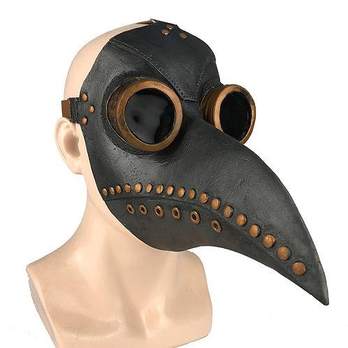 Medieval Steampunk Plague Doctor Bird Mask-Latex Punk Cosplay Masks-Beak -Adult