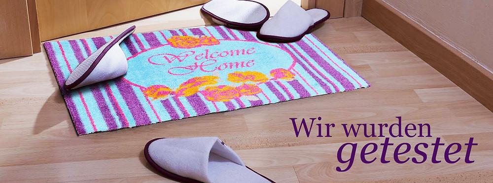 Fußmatte im Test Testbericht Teppich Produkttest Blog Fupmatte Home