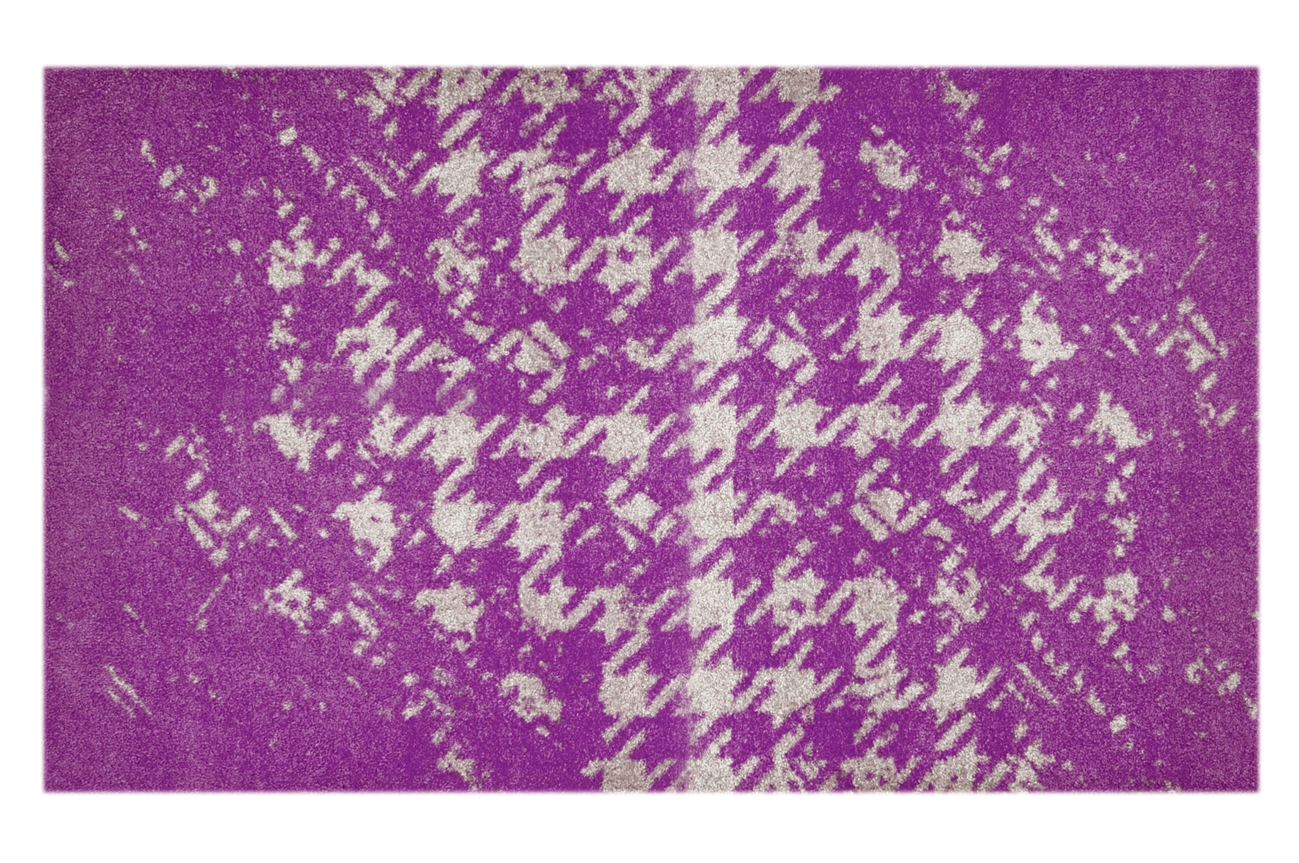 """Fußmatte """"Chaos"""" violett"""