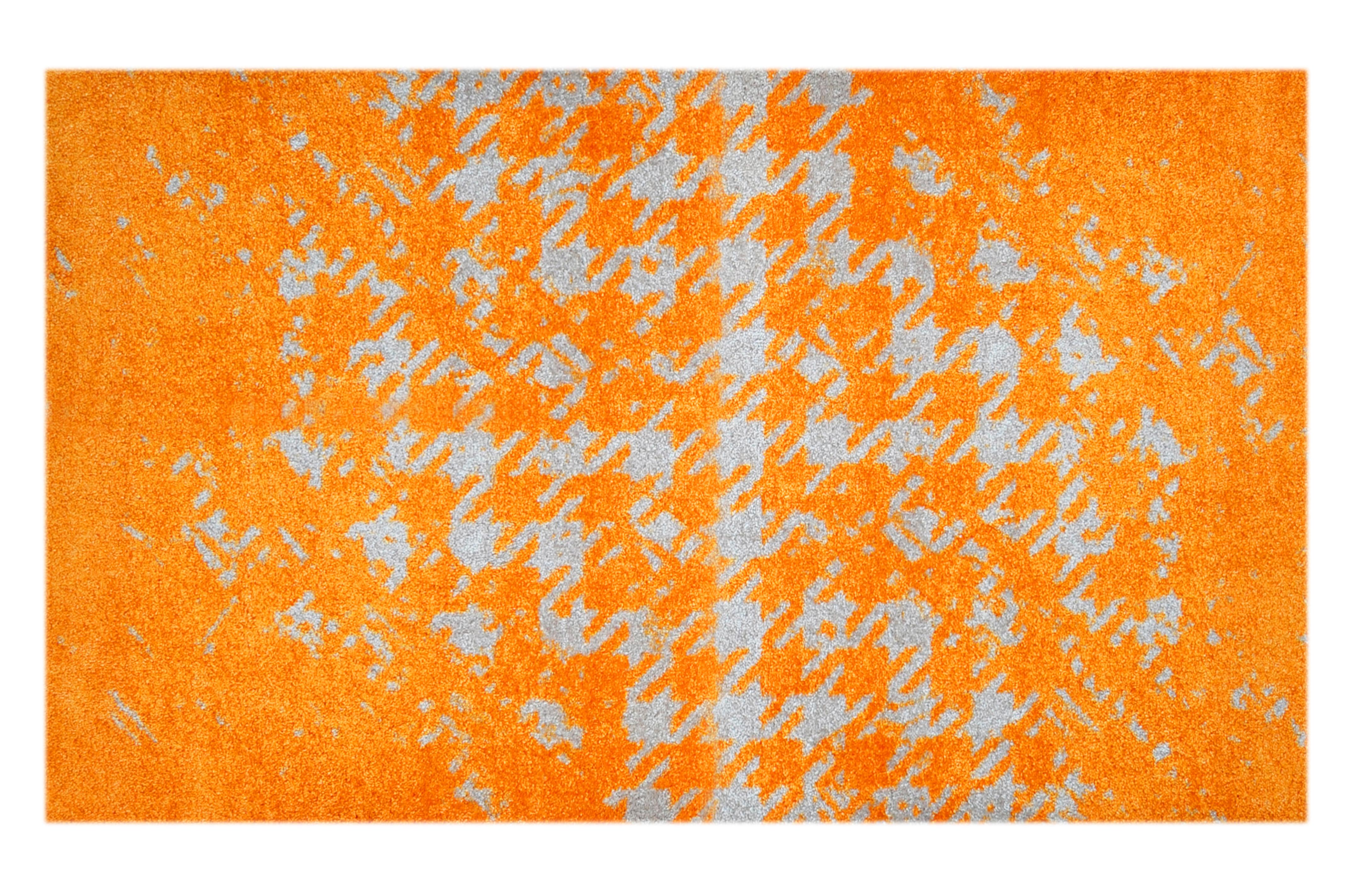 "Fußmatte ""Chaos"" orange"