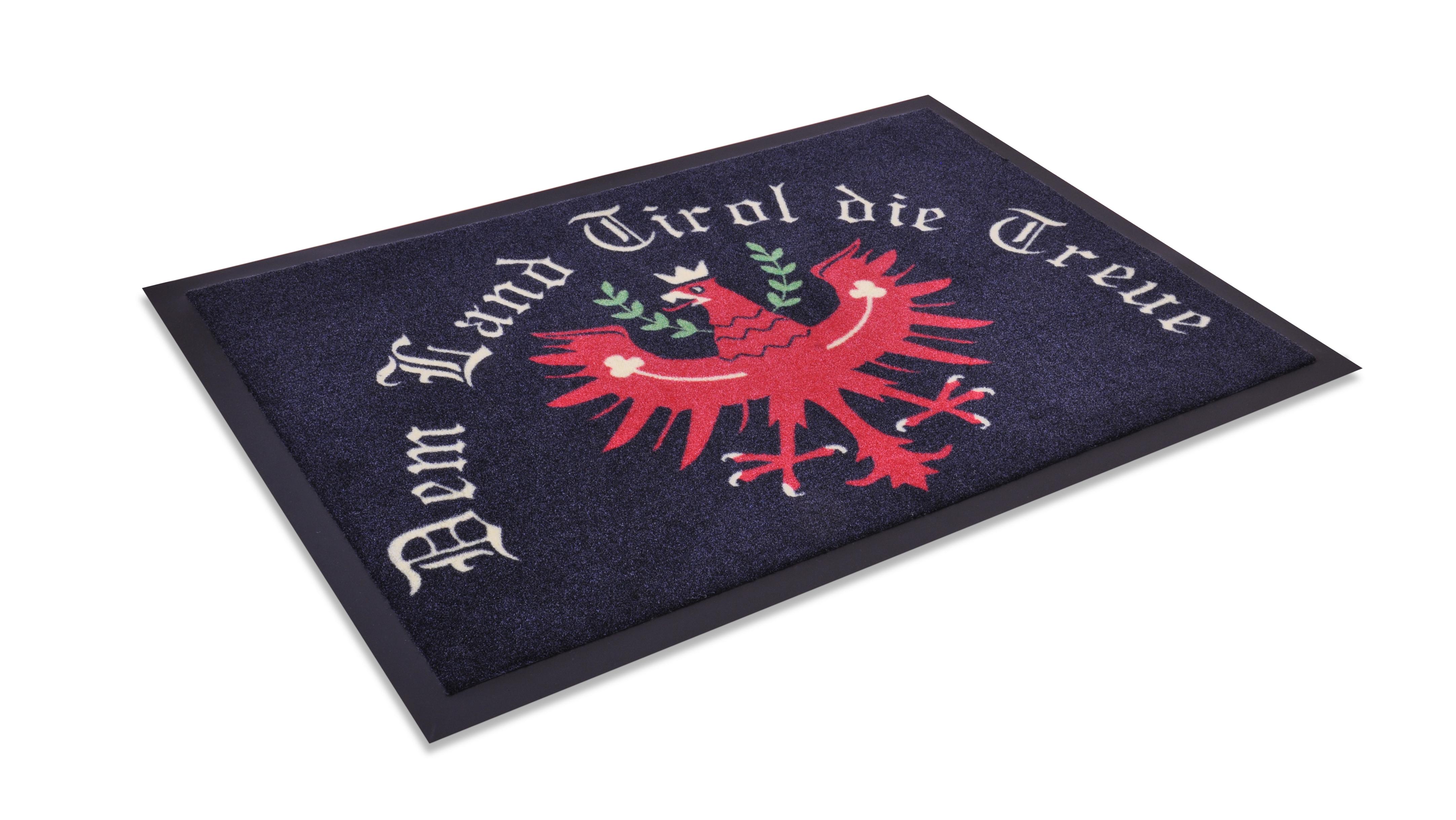 """Fußmatte """"Dem Land Tirol die Treue"""""""