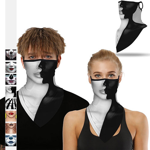 Exotic  Neck Tube Face Mask-Unique Style-Talk of the Town! Must See