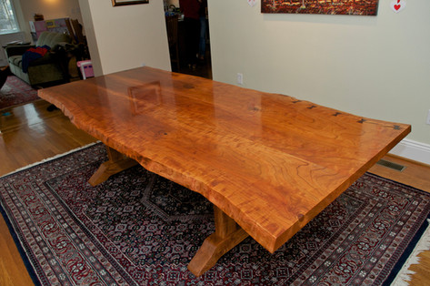 Cherry Trestle Table