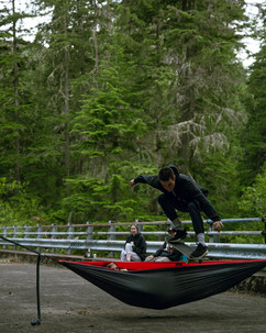 Camping Hippyjump