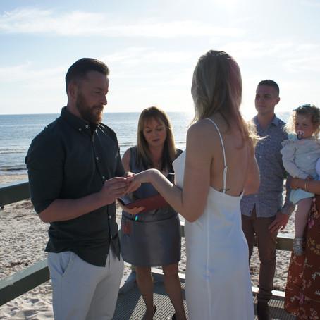 Daria and Alex - a COVID style wedding!