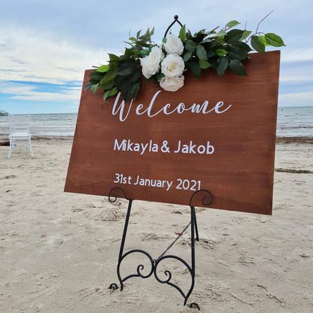 Mikayla and Jakob -Beautiful Beach Weddings!