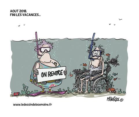 26 AOÛT 2018 - FINI LES VACANCES...