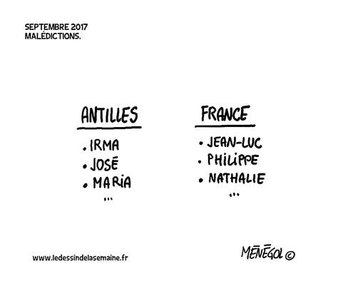 19 SEPT. 2017 - MALÉDICTIONS