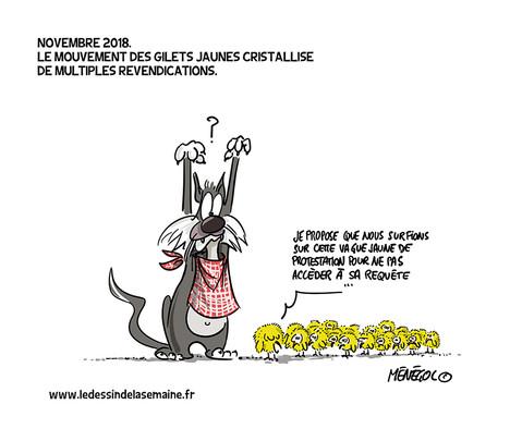 25 NOV. 2018 - VIGILANCE JAUNE SUR TOUTE LA FRANCE