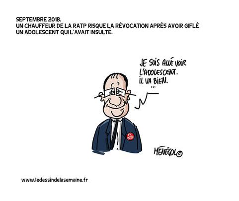 16 SEPT. 2018 - CHAUFFEUR DE SALLE