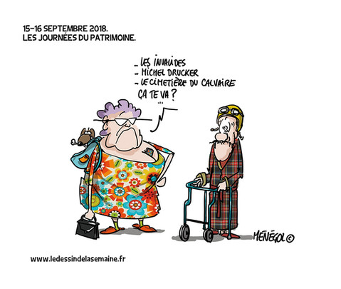 15 SEPT. 2018 - LA JOURNÉE DU PATRIMOINE