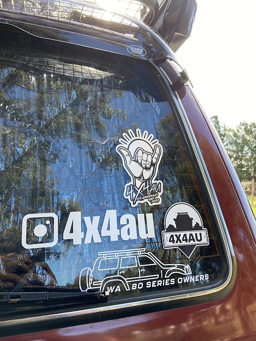4x4au Sticker Bundle