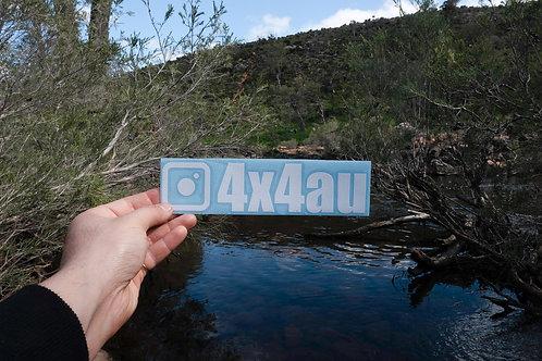Original 4x4au Sticker