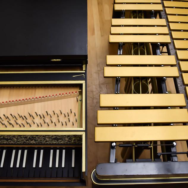 Harpsichord and Vibraphone