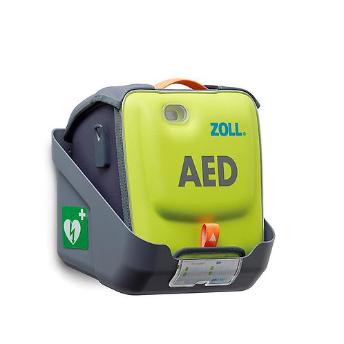 ZOLL AED 3 seinäteline suojalaukussa olevalle defibrillaattorille