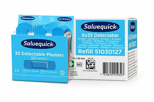 Salvequick Sininen muovilaastari