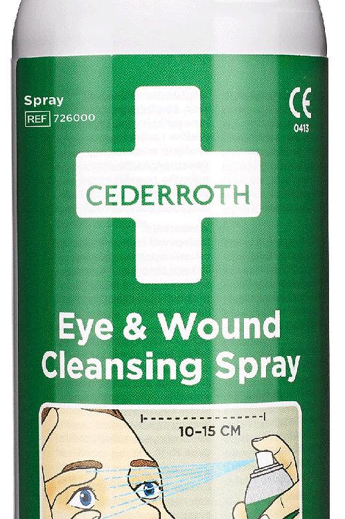 Cederroth huuhtelupray silmille ja haavoille