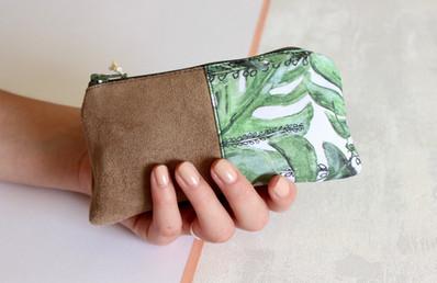 Tropical Monstera Leaf-Green