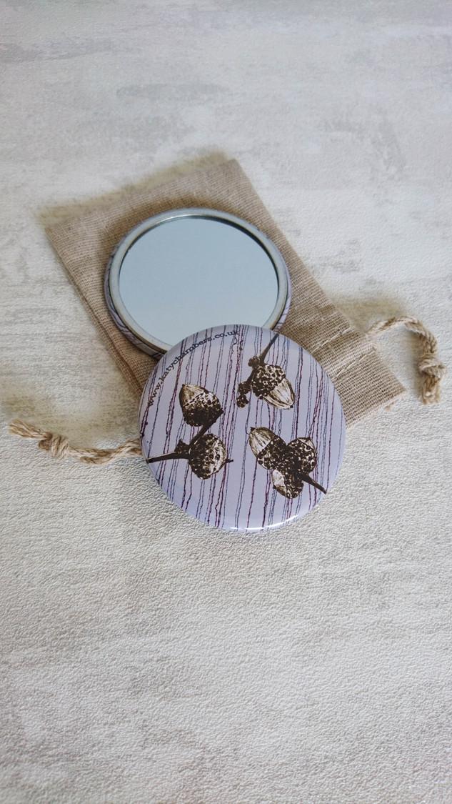 Little Acorns Pocket Mirror