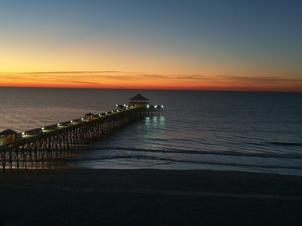 Sunrise View from Tides Folly Beach
