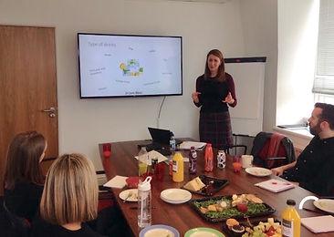 Workplace Nutrition Talk by Dr Laura Wyn