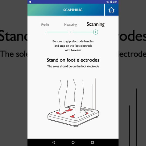 IoT Weight Scale Android app development