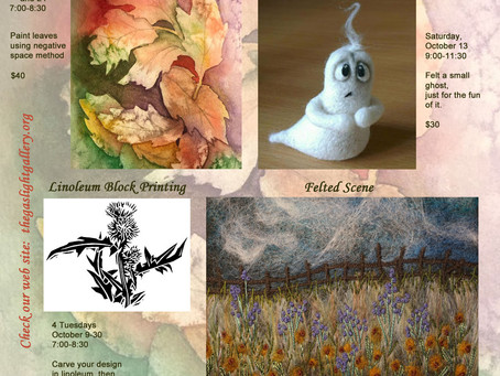 Upcoming classes in October