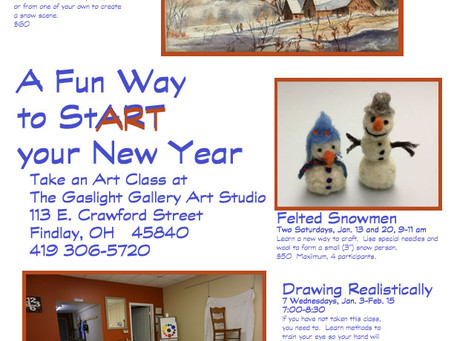 Upcoming classes in January